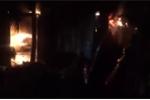 Hà Nội: Cháy lớn tại Quốc Oai, hơn 4 tiếng vẫn tiếp tục dập lửa