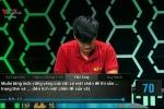 Chung kết Olympia 2016: Phần khởi động của Tiến Tùng