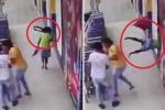 Clip: Ô tô nổ lốp khi đang chạy, người phụ nữ đi bộ chết thảm