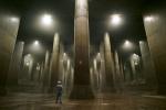 Công trình khổng lồ dưới hệ thống cống ngầm ở Nhật Bản