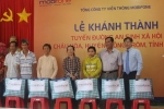 Khánh thành tuyến đường an sinh xã hội tại xã Châu Hòa, Bến Tre
