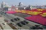 Video: Toàn cảnh lễ diễu binh kỷ niệm 70 năm thành lập của Quân đội Triều Tiên