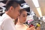 Lâm Khánh Chi và chồng trẻ kém 8 tuổi quấn quýt đi sắm sửa cho tổ ấm