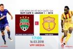 Video trực tiếp B.Bình Dương vs Nam Định vòng 2 V-League 2018