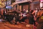Truy tìm nữ tài xế xe Fortuner húc xe máy vào gầm ô tô rồi bỏ trốn