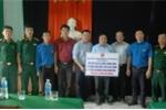 Tân Á Đại Thành trao tặng 100 bồn nước tới bà con vùng lũ Quảng Bình, Hà Tĩnh