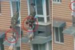 Clip: Lính cứu hỏa túm tóc, lôi ngược cô gái đòi tự tử vào phòng