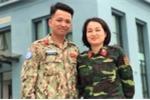 Đôi vợ chồng quân nhân đầu tiên tham gia gìn giữ hòa bình ở Nam Sudan