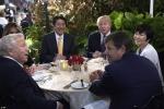 Nghi vấn Đệ nhất phu nhân Nhật Bản giả vờ không biết tiếng Anh khi ăn tối cùng bàn ông Trump