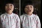 Bé gái hát nhạc chế Táo quân khiến người xem bật cười