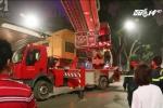 Hà Nội: Xe thang chữa cháy giải cứu bà bầu sinh non trên tầng 4