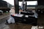 Chùm ảnh bão 12 đổ bộ: Cây xanh gãy đổ hàng loạt, nhiều ngôi nhà bị tốc mái