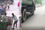 Xe chở rác ngang nhiên chạy giờ cấm, tông chết cháu bé trên phố Hà Nội