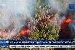 Clip: Cận cảnh núi lửa ở Hawaii phun dung nham đỏ rực, đốt cháy rừng cây