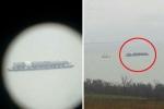 Xuất hiện tàu lạ nghi chở vũ khí bí mật của Nga ở Crưm