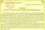 Chủ tịch quận ở Hà Nội viết thư kêu gọi không chiếm vỉa hè, lòng đường