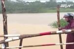 45 đoàn tàu bị tắc nghẽn trong mưa lũ ở miền Trung