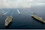 Mỹ điều 2 tàu sân bay đến gần Biển Đông cảnh báo Trung Quốc