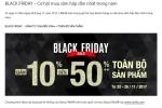 Black Friday 2017: Nhiều thương hiệu thời trang giảm giá sâu