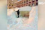 Nga: Rét -55°C, cầm xẻng tìm ô tô