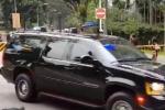 Clip: Đoàn xe chở ông Trump và ông Kim lăn bánh đến hội nghị thượng đỉnh