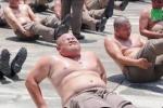 'Lười biếng' và 'ăn quá nhiều', cảnh sát Thái Lan bị gửi đi trại giảm béo để triệt mỡ