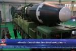Video: Cận cảnh tên lửa Hwasong-15 mạnh nhất của Triều Tiên vừa được phóng