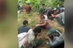 Hãi hùng con nghiện dùng chung bơm kim tiêm, chích ma túy giữa ban ngày ở Lào Cai