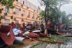 Ảnh: Thái Bình 'tơi tả' sau khi bị bão số 1 quần thảo
