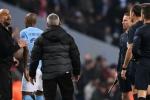 Man City mất bàn thắng, HLV Guardiola sa sả mắng trọng tài