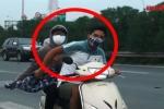 Video: Cận cảnh những kẻ đi xe máy trâng tráo trên đại lộ Thăng Long như chốn vô luật pháp
