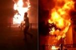Clip: Quán bar ở Sài Gòn cháy dữ dội, lửa lan rộng khiến dân hoảng hốt