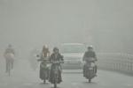 Sương mù ở Hà Nội chứa lượng lớn bụi nguy hiểm