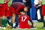 Ronaldo tặng quà đặc biệt, Nani nghẹn ngào xúc động