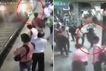 Bị tên cướp nữ trang đẩy ngã vào đường ray, cô gái bị tàu hỏa cán chết thương tâm
