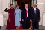 Ý nghĩa trang phục của vợ và con gái ông Trump trong lễ nhậm chức
