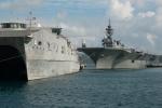 Tàu Hải quân Mỹ lần đầu đến Cam Ranh tập huấn cùng Hải quân Việt Nam