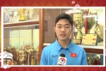 Video: Công Phượng, Xuân Trường, Văn Toàn chúc Tết người hâm mộ
