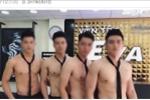 Dàn nhân viên 6 múi ở tiệm cắt tóc ở Hà Nội lên báo nước ngoài