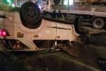 Video: Tai nạn liên tiếp trong đêm, hàng chục người bị thương