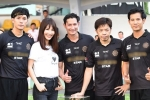 Thái Hòa, Nhan Phúc Vinh đá bóng gây quỹ ủng hộ 'hiệp sĩ' đường phố