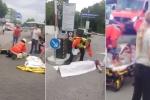 Hiện trường la liệt người bị thương sau vụ xả súng ở Munich