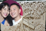 Lộ thiệp cưới 'sang chảnh' của Diệp Lâm Anh và chồng sắp cưới đại gia