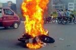 Xăng không đứng ngoài nguyên nhân cháy xe