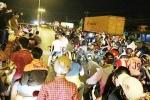Video: Hàng trăm 'quái xế' táo tợn chặn quốc lộ làm trường đua