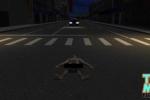 Khỏa thân nằm giữa đường bị cảnh sát đâm chết khi truy tìm