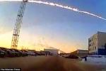 Những hình ảnh vụ nổ thiên thạch ở Nga
