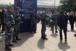 Video: An ninh Nga siết chặt trước giờ khai mạc World Cup
