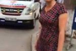 Thêm 4 clip mới vụ bảo vệ chặn xe cứu thương tại Bệnh viện Nhi TW