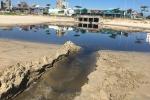 Xác định thủ phạm lén lút xả nước thải hôi thối ra biển Đà Nẵng
